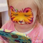 fizzbubble-face-paint-baby-tiger-orange-mirror-moment