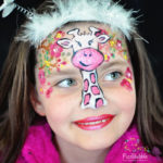 fizzbubble-face-painting-giraffe-pink