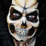 fizzbubble-face-painting-halloween-skull-scary-fancy-dress