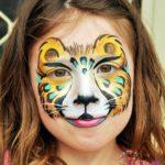 fizzbubble-face-painting-leopard-gold